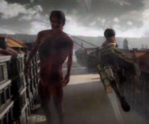 Первый геймплей Attack on Titan для консолей PlayStation