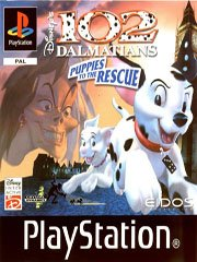 Обложка Disney's 102 Dalmatians: Puppies to the Rescue