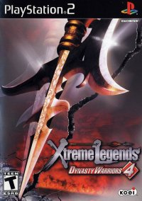 Обложка Dynasty Warriors 4: Xtreme Legends
