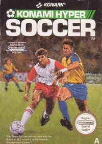 Обложка Konami Hyper Soccer