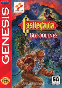 Обложка Castlevania: Bloodlines