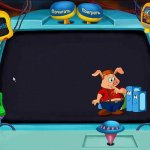 Скриншот Pong Pong's Learning Adventure: Back to the Future – Изображение 5