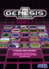 Обложка SEGA Genesis Classics Series 2