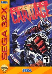 Обложка Cosmic Carnage