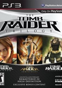 Обложка The Tomb Raider Trilogy