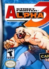 Обложка Street Fighter Alpha 3