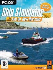 Обложка Ship Simulator 2008: New Horizons