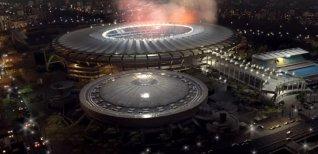 Pro Evolution Soccer 2017. Бразильские стадионы