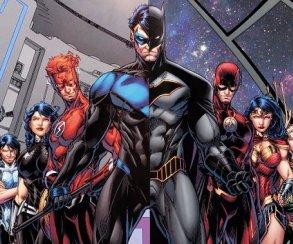 Бэтмен, Аквамен, Флэш и Чудо-женщина встретились со своими протеже