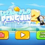 Скриншот Adventures in Ice World 2 - Runing and Fishing Penguin – Изображение 1