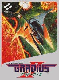 Обложка Gradius II