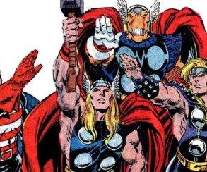 Кто в комиксах поднимал молот Тора?