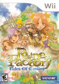 Обложка Rune Factory: Tides of Destiny