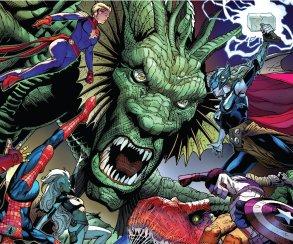 Гигантские монстры наводнили Землю в первом номере Monsters Unleashed