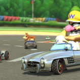 Скриншот Mario Kart 8: Mercedes-Benz