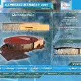 Скриншот Handball Manager 2007