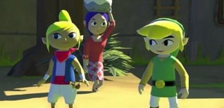 The Legend of Zelda: The Wind Waker HD. Видео #1