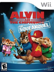 Обложка Alvin and the Chipmunks: The Squeakquel