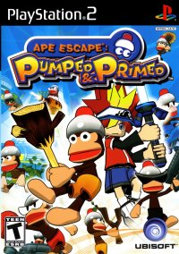 Обложка Ape Escape: Pumped & Primed