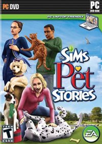 Обложка The Sims: Pet Stories