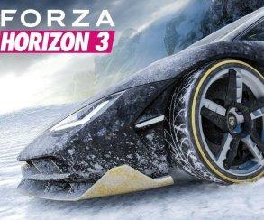 ВForza Horizon 3 появятся заснеженные горные трассы