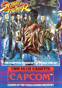 Обложка Street Fighter