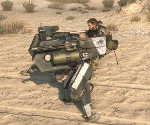 40 минут Metal Gear Solid 5: на закорках у робота под музыку 80-х