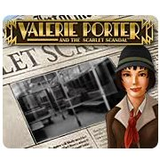 Обложка Valerie Porter and the Scarlet Scandal