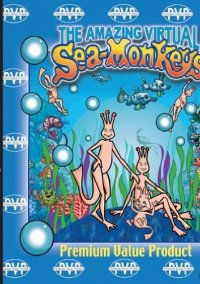 Обложка The Amazing Virtual Sea-Monkeys
