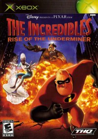 Обложка The Incredibles: Rise of the Underminer