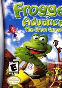 Обложка Frogger Advance: The Great Quest