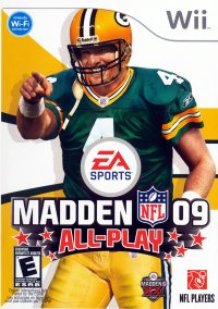 Обложка Madden NFL 09 All-Play