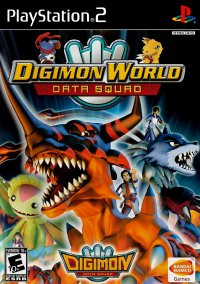 Обложка Digimon World Data Squad