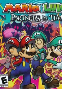 Обложка Mario & Luigi: Partners in Time