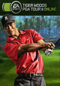 Обложка Tiger Woods PGA Tour Online