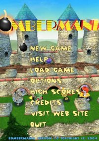 Обложка Bombermania (2004)
