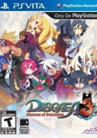 Обложка Disgaea 3: Absence of Detention