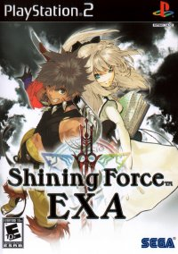 Обложка Shining Force EXA