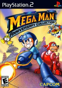 Обложка Mega Man Anniversary Collection