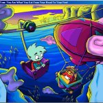 Скриншот Pajama Sam 3: You Are What You Eat from Your Head to Your Feet – Изображение 6
