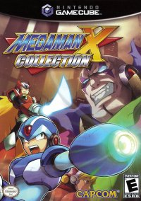 Обложка Mega Man X Collection