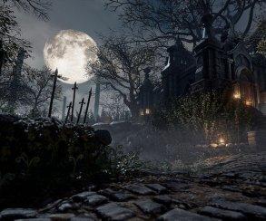 Как Сон охотника из Bloodborne выглядит на Unreal Engine 4