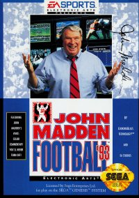 John Madden Football Championship Edition – фото обложки игры