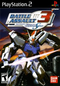 Обложка Battle Assault 3 featuring Gundam Seed