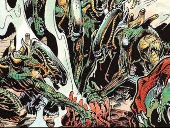 Жуткие комиксы про Чужих, откоторых кровь стынет вжилах