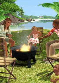 Обложка The Sims 3: Sunlit Tides