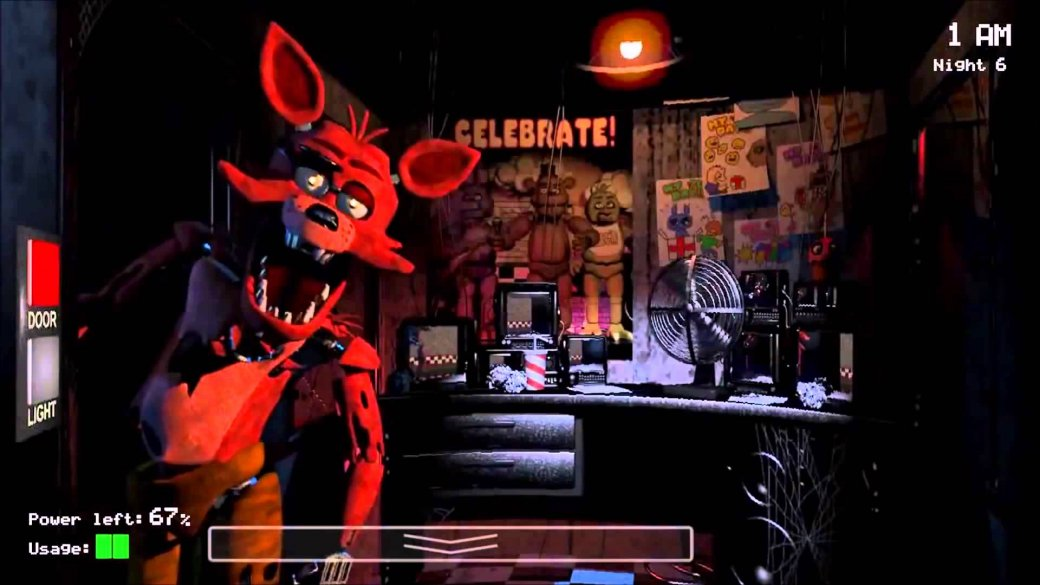 Герои игры five nights at freddys 2