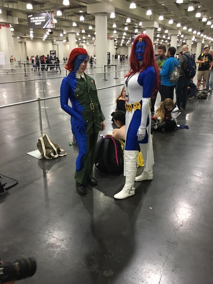 Потрясающий косплей Мистик сNew York Comic Con. - Изображение 7