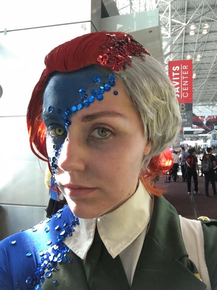 Потрясающий косплей Мистик сNew York Comic Con. - Изображение 2