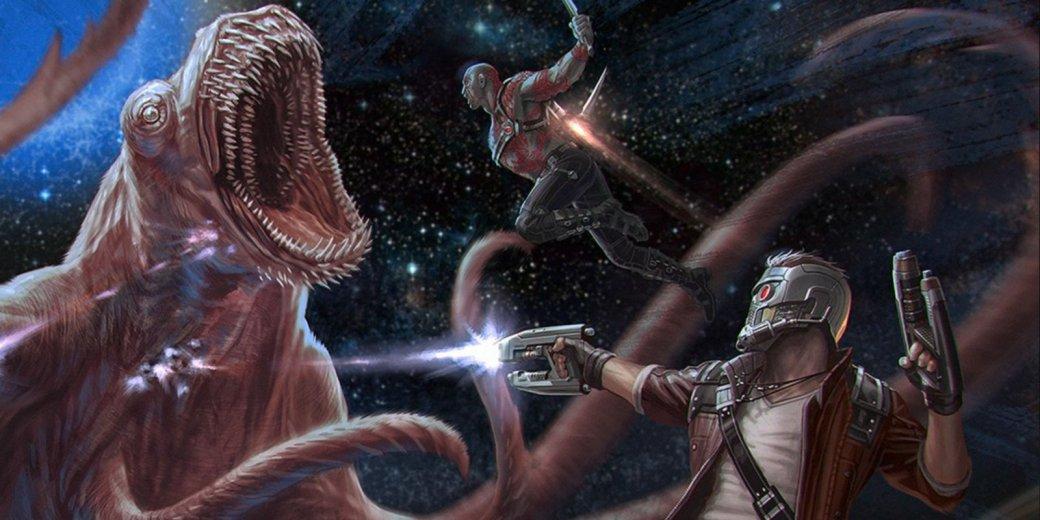 Не выключайте проектор! У «Стражей Галактики 2» пять сцен в титрах. - Изображение 1